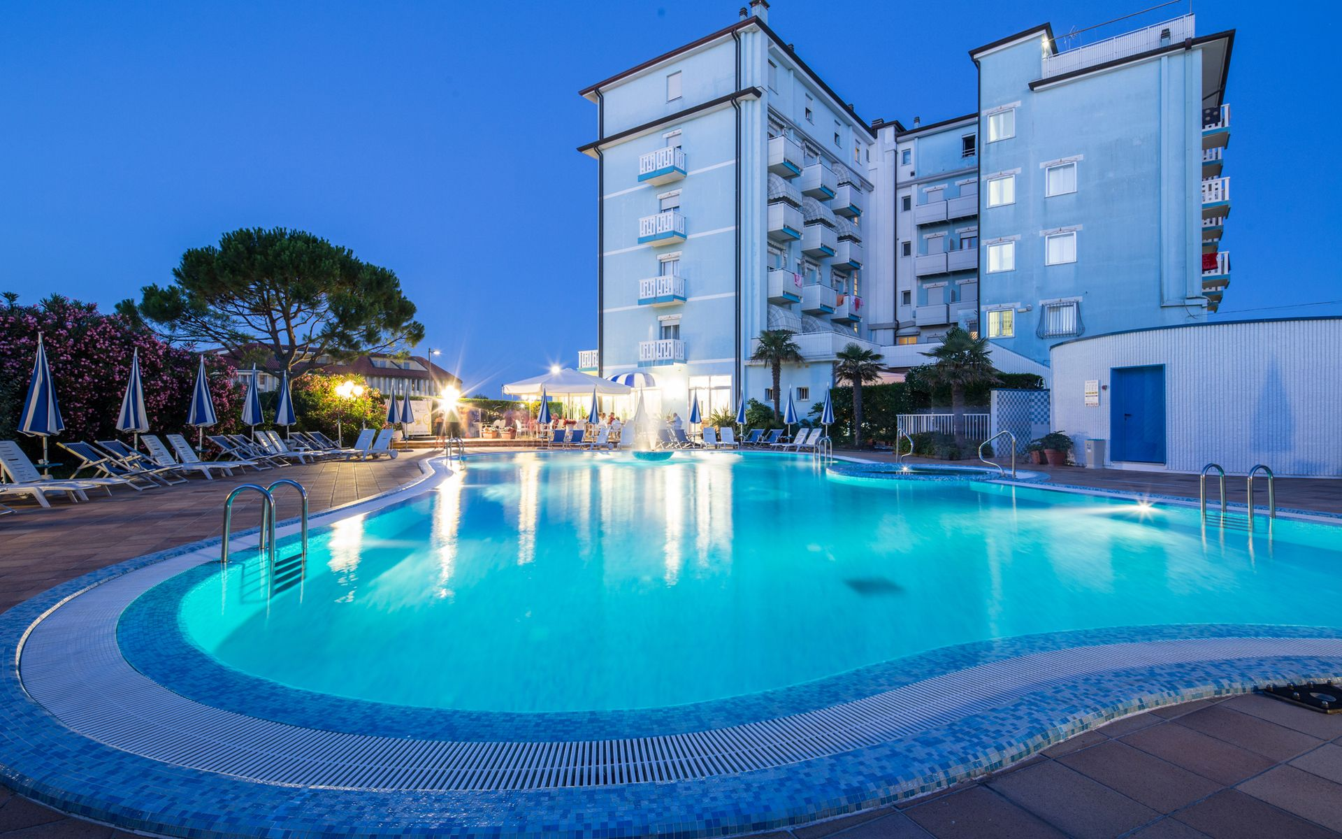 Piscina Hotel Hotels Caorle Beheitztes Schwimmbad Hotel Principe