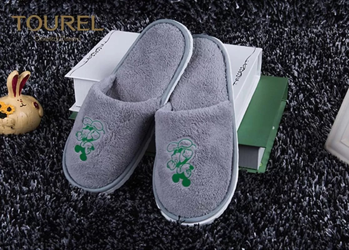 Baby Hotel Slippers Men And Women Disposable Hotel Slippers Used Soft Sole