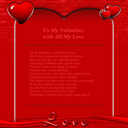 Love (Valentine\u0027s Day) Free HTML E-Mail Templates