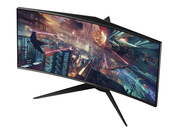 3440x1440 Wallpaper Pubg Alienware Unveils Two 34 Inch Curved High Speed Gaming