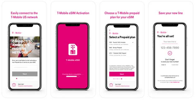 T-Mobile eSIM Support Launches For iPhone Prepaid Lines HotHardware