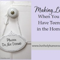 Making Love When You Have Teens in the Home