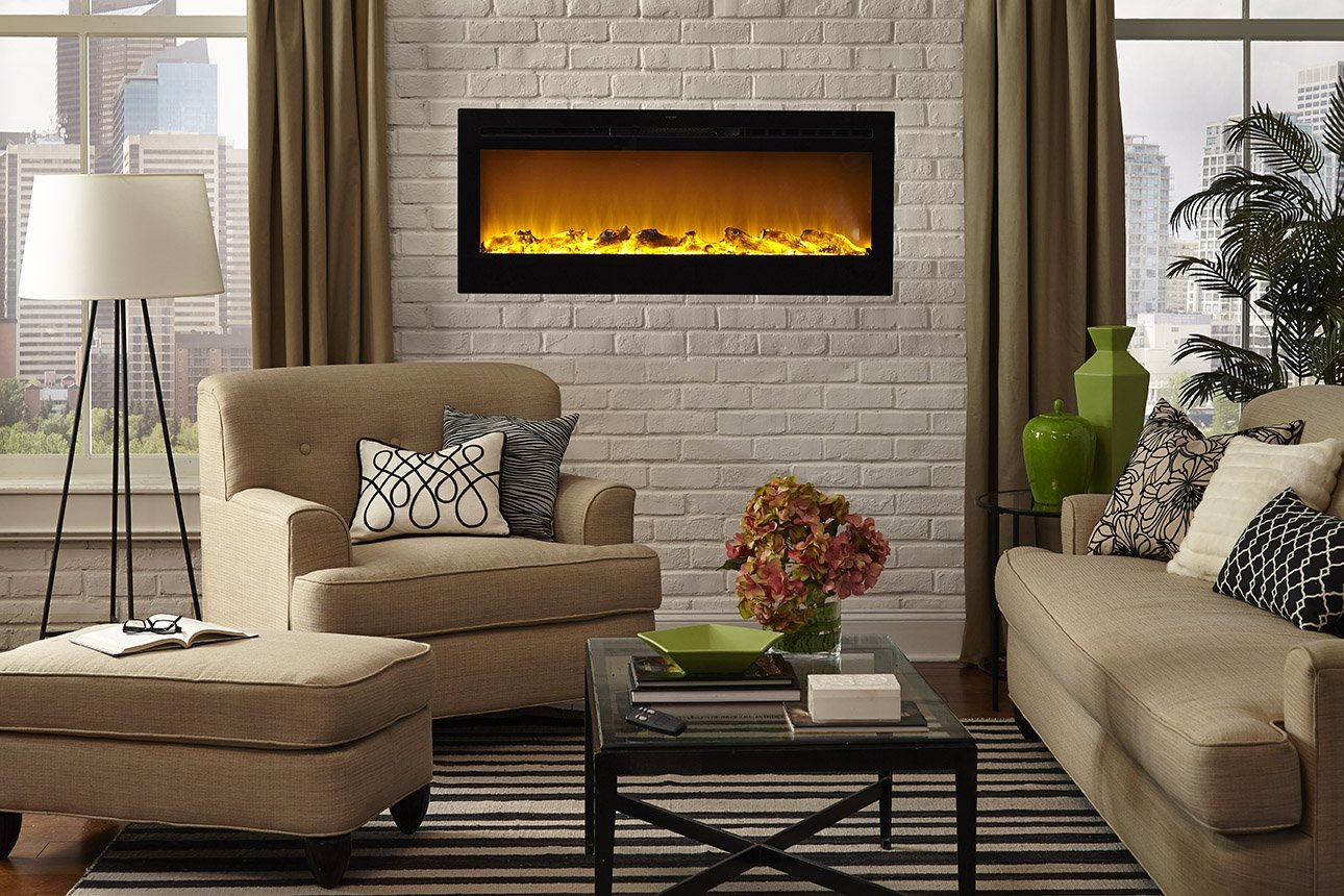Electric Fireplace Built Into Wall Best Electric Fireplace Stoves For 2019 Reviews With Comparison