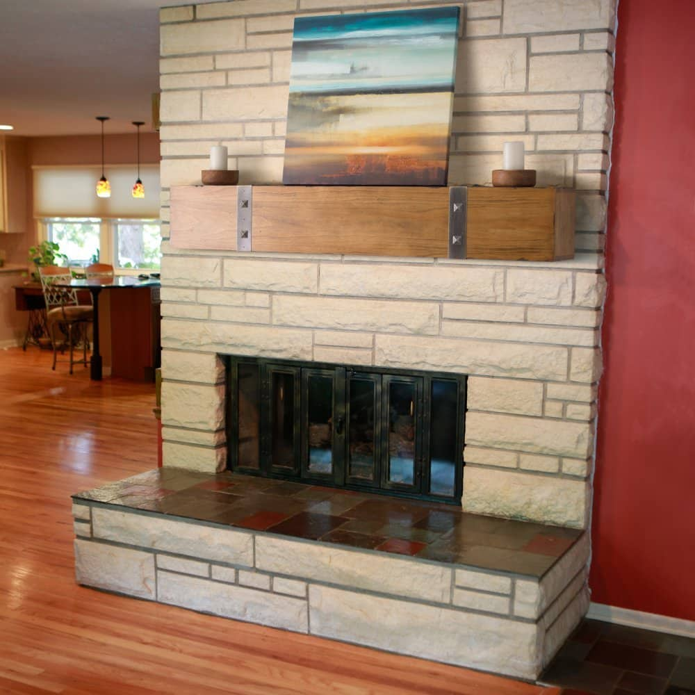 Copper Fireplace Mantel Best Fireplace Mantel And Mantel Shelf For 2018 Expert Reviews