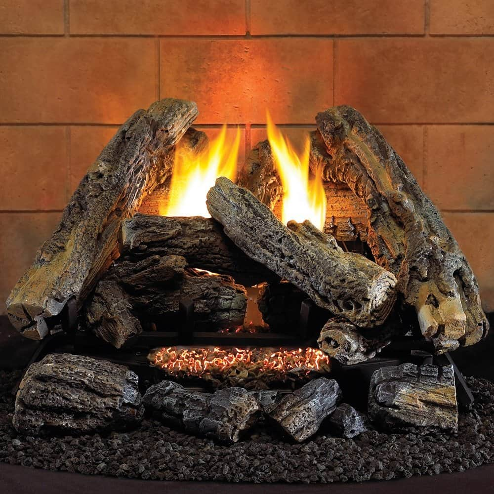 Gas Log Starters For Fireplace Best Gas Logs For Vented And Ventless Fireplaces Reviews