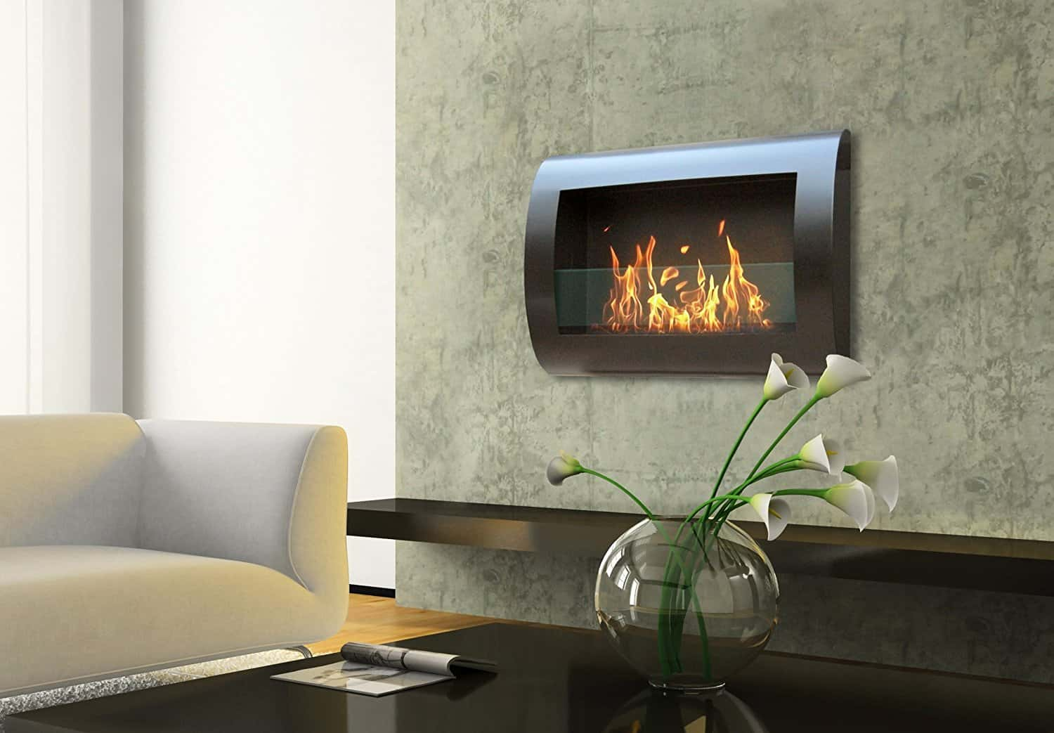 Ethanol Fireplaces Reviews Best Ethanol Fireplace Review And Bio Ethanol Fuel In 2018
