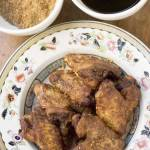 Twice Cooked Chicken Wings with Five-Spice and Black Caramel Vinegar
