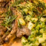 Jerk Pork Cutlets with Pineapple Salsa