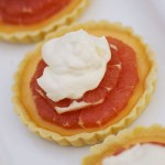 Pink Grapefruit Tartlets