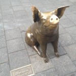 There are statues of pigs in the Rundle Street Mall!