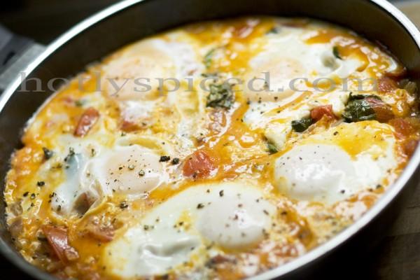 Breakfast Basil Eggs