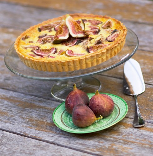 It's great to enjoy fresh figs while in season