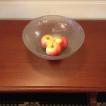 Complimentary apples so you don't have to steal from the buffet