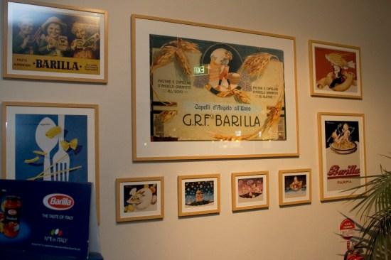 Barilla's posters