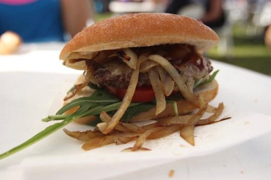 A wagyu burger