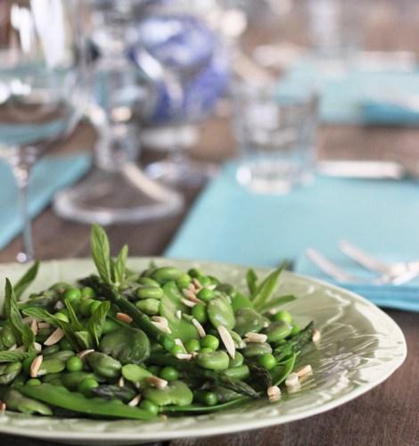 A Spring salad