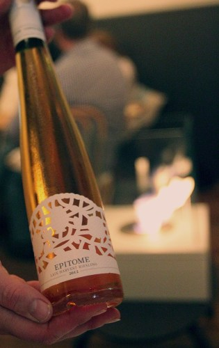 Longview Epitome late harvest riesling