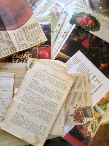 Treasured Christmas recipes