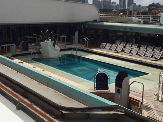 The Lido pool.