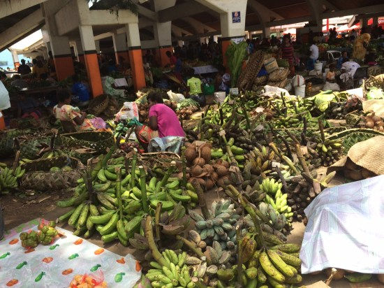 Port Vila fruit and vegetable market
