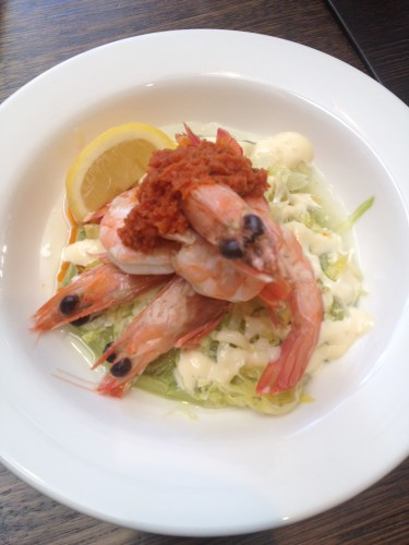 The Oaks Classic Prawn Cocktail:  $18.00 GF