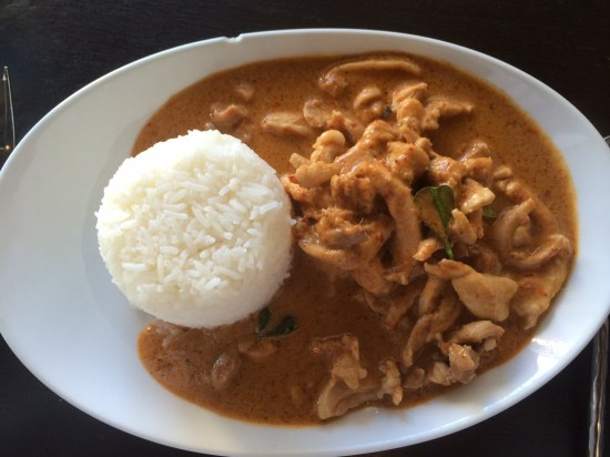 Lunch special - Penang Chicken Curry