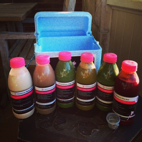 The juices supplied for Day 3