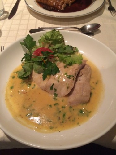 Barramundi fillet with kaffir lime beurre blanc