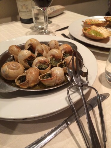 Escargots bourgogne au beurre maison Paradox