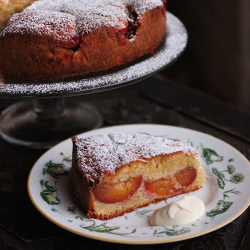 Perfect with just a sprinkle of icing sugar and a dollop of cream