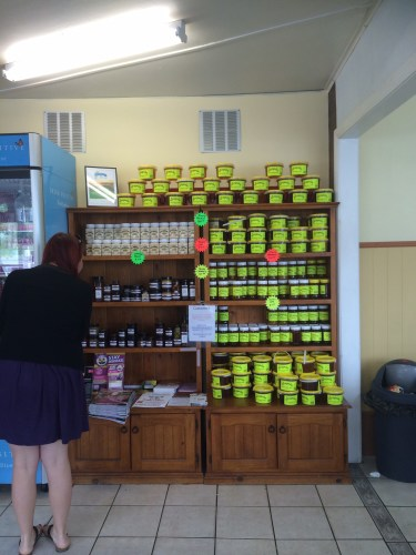 Local honey is for sale