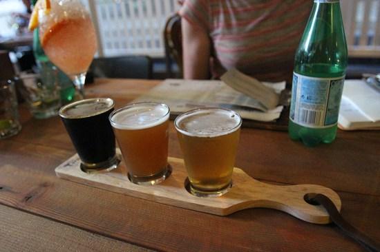 Tasting plate of Beers $6.00