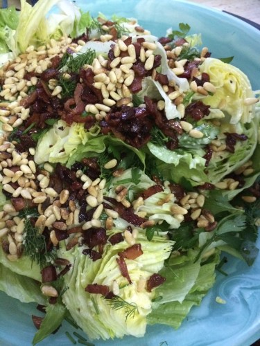 Ice-berg wedgie salad