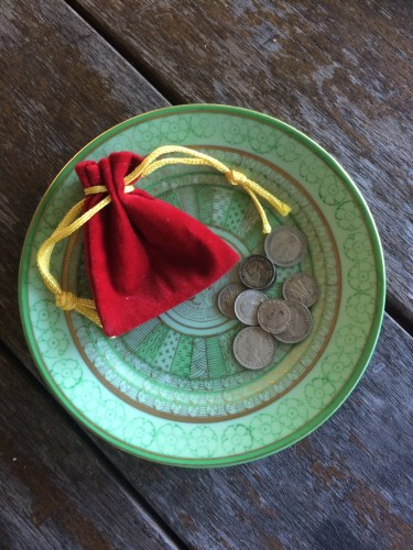 Coins for a Christmas Pudding