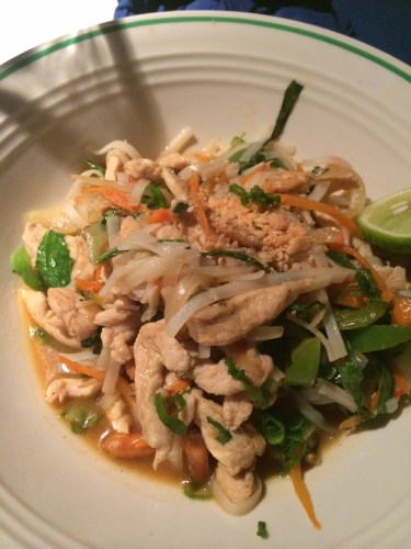 Thai Chicken:  2850 vt ($32.00)