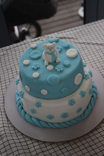 A Christening cake
