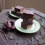 Vegan Peppermint Chocolate Squares