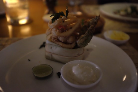Fritto Misto: About $9.70
