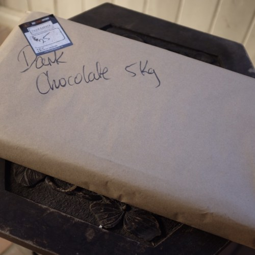 5kgs of dark chocolate