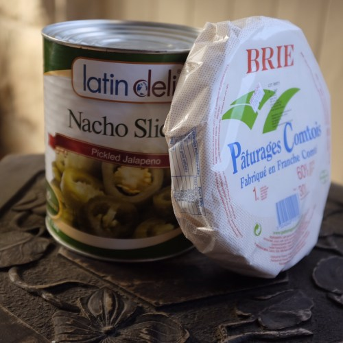 Jalapenos and brie