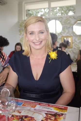 The show's host, Johanna Griggs