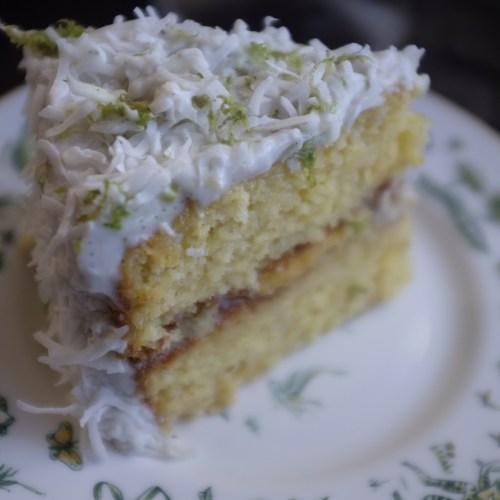 A tropical cake