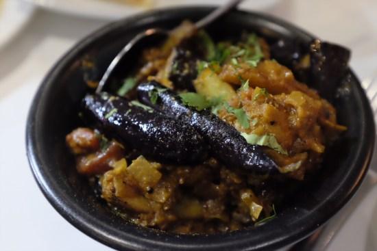 Baby Eggplant & Potato: Andhra Style Brinjal Potato Fry