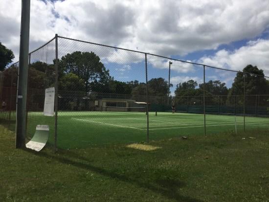 Public tennis courts