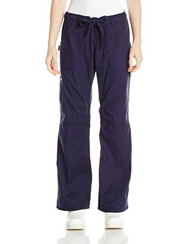 Koi Women's Extra Petite Lindsey Cargo Style Ultra Comfortable Scrub Pants