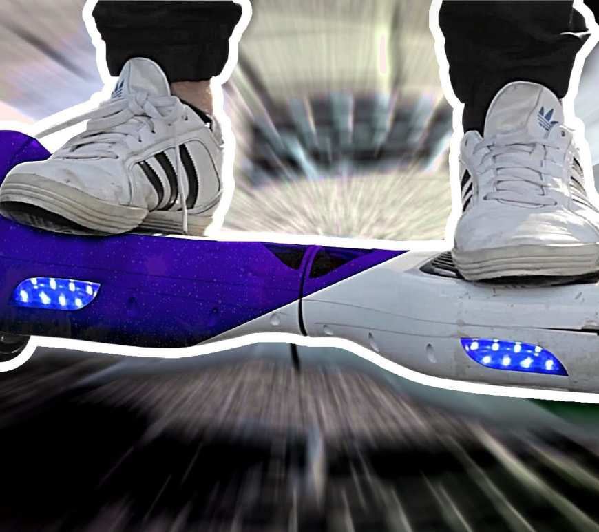 Hoverboard lackieren