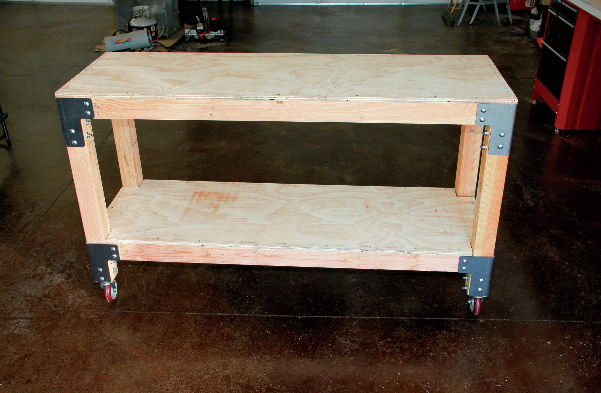 Diy Workshop Workbench