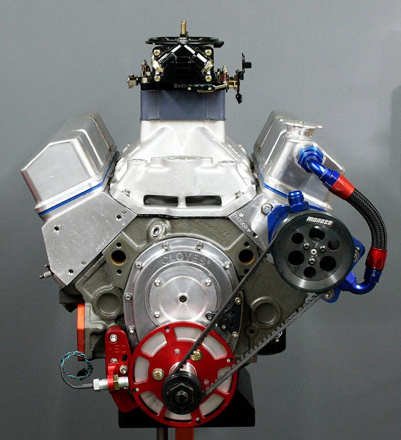 hardcore horsepower s 692 hp 406ci chevy hot rod engine tech. Black Bedroom Furniture Sets. Home Design Ideas