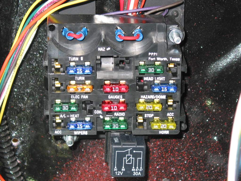 flashers fuse box small