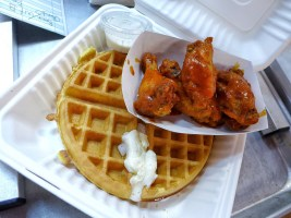 WINGS AND WAFFLE SPECIAL